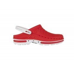 Wock Clog 17 Wit-Rood